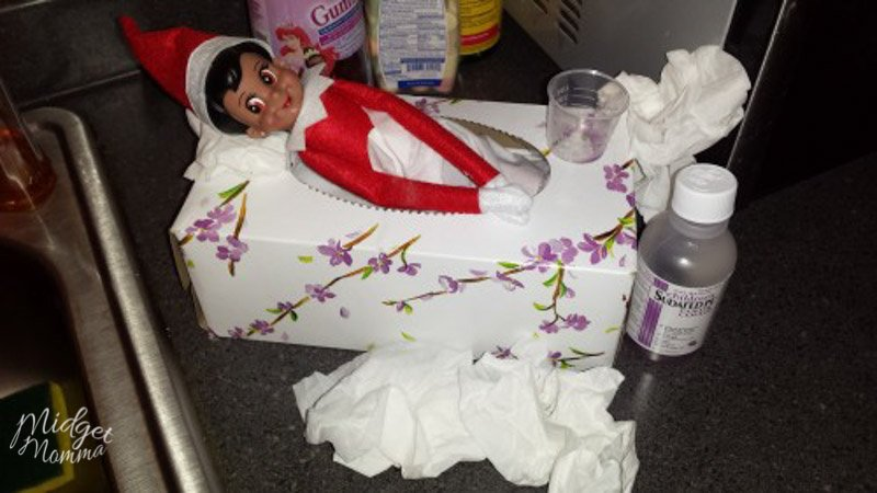 excuses Why Elf on the shelf didn't move