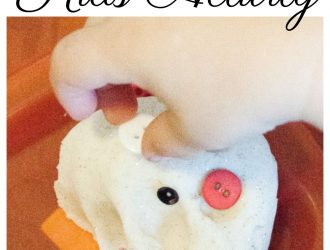 Do You Want To Build Playdough Snowman Activity
