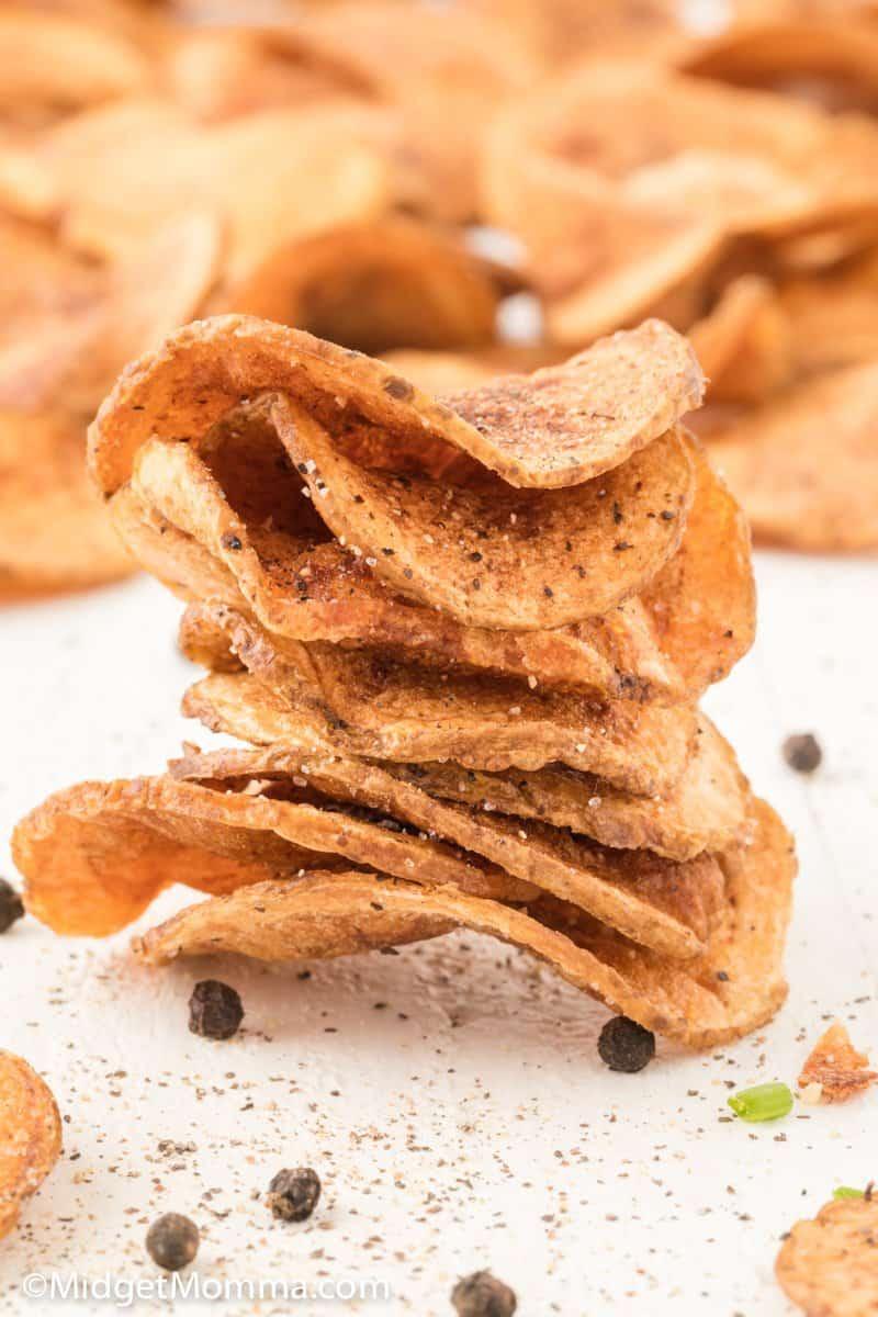 Salt and Pepper Potato Chips