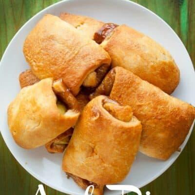 apple pie rolls, easy apple pie dessert
