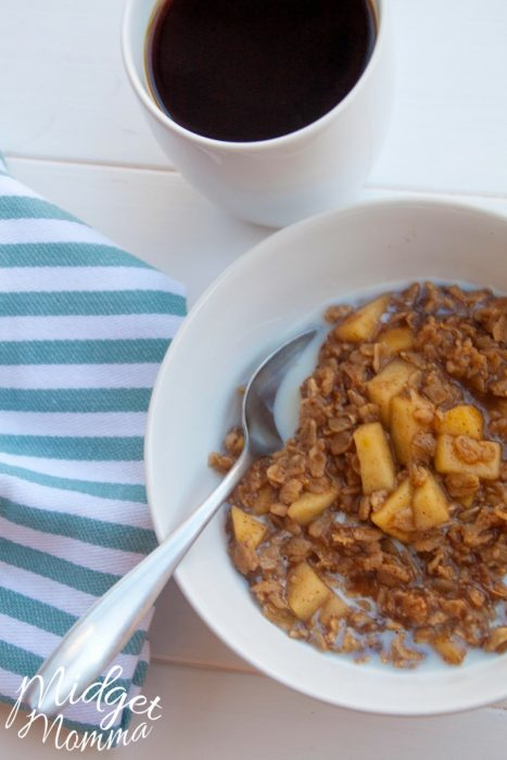 homemade oatmeal