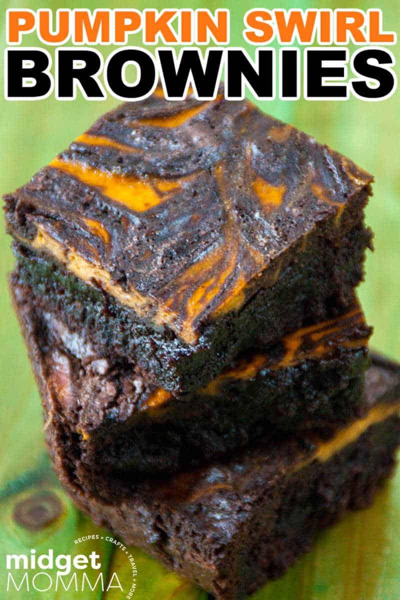 pumpkin swirl brownie RECIPE
