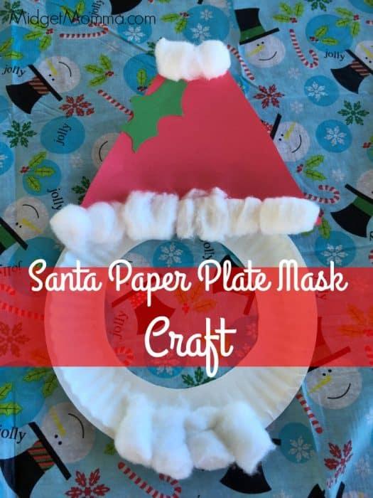santa-paper-plate-mask