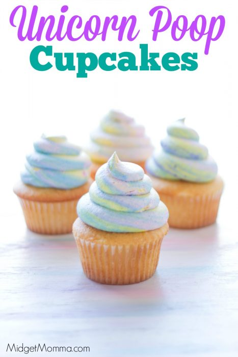 Unicorn Poop Cupcakes The Trick To The Unicorn Swirl