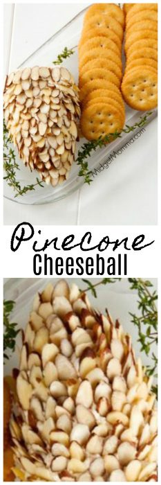 Pinecone Christmas Cheeseball