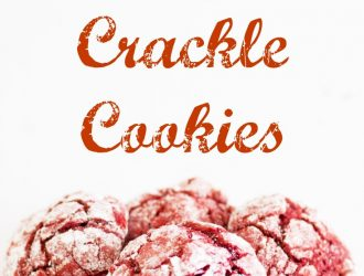 Red Velvet Crackle Cookies. These Red Velvet Crackle Cookies are great christmas cookies. These Red Velvet Crackle Cookies are already red christmas colored and makes them festive. #RedVelvet #RedVelvetCookie #CrinkleCookie #CrackleCookie