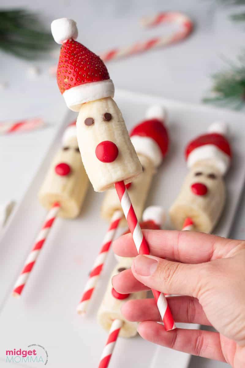 Santa Banana Pops