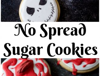 No Spread Sugar Cookies