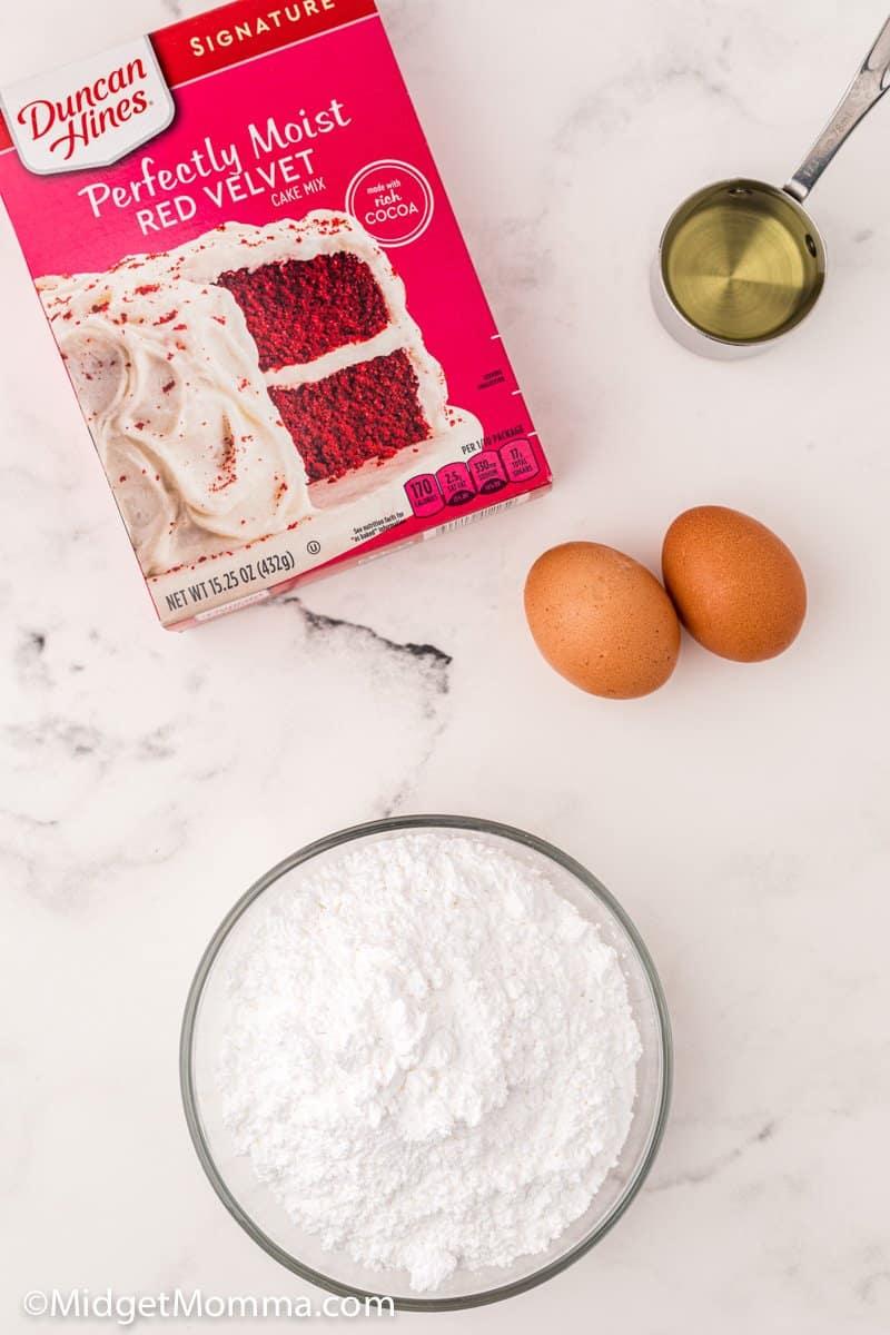 red velvet cookies ingredients