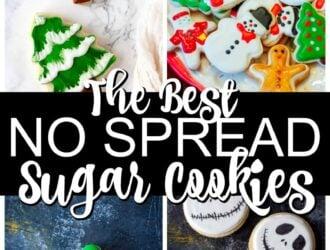 the best no spread sugar cookies recipes