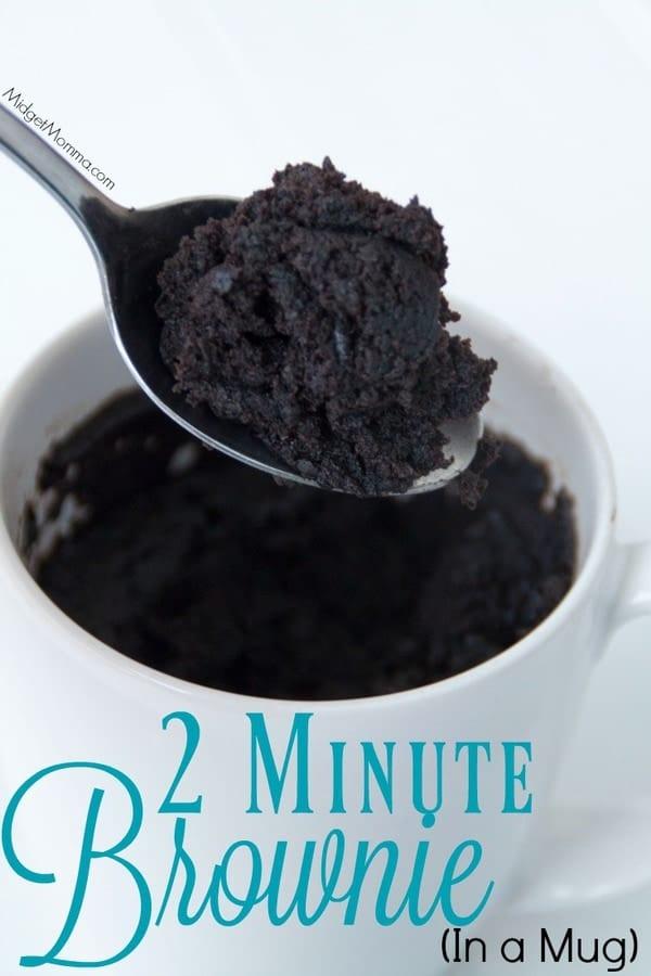 2 minute microwave mug brownie  u2022 midgetmomma