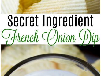 French Onion Dip (With Secret Ingredient!)