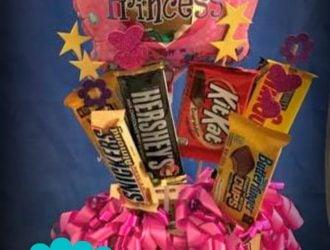 Chocolate Bar Gift Arrangement