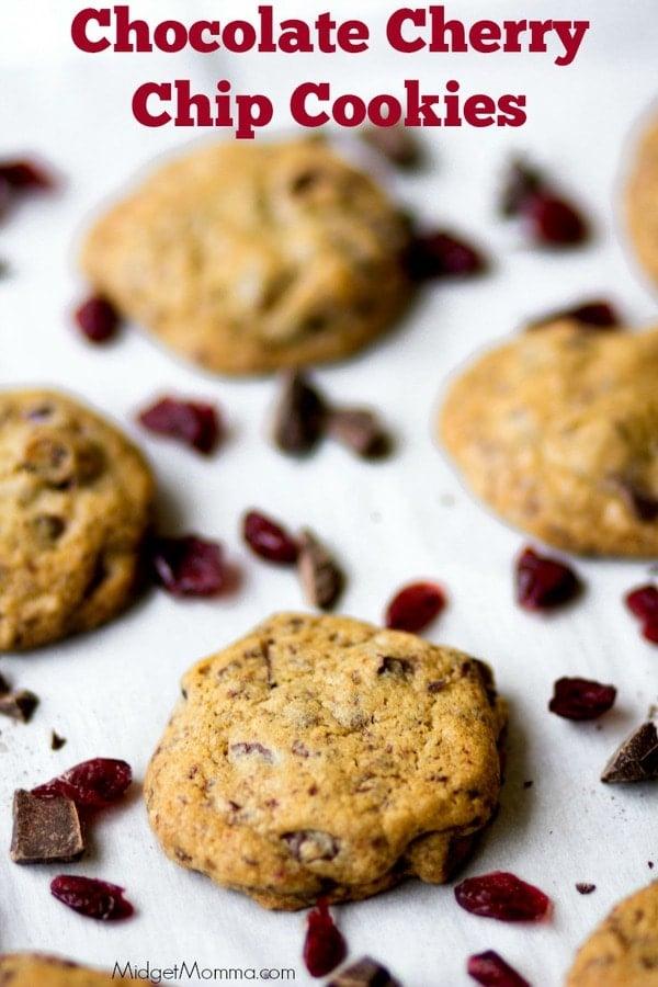 Cheery Chocolate chip cookies