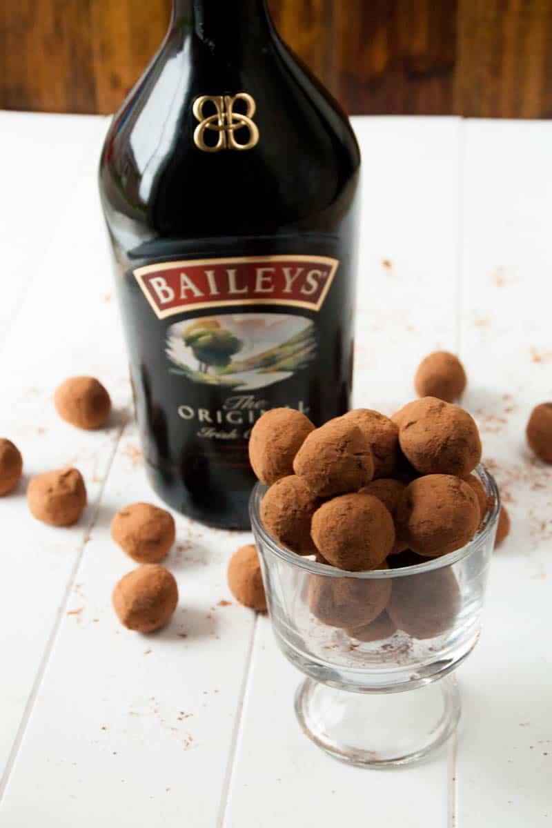 Bailey's Irish Cream Coffee Truffles
