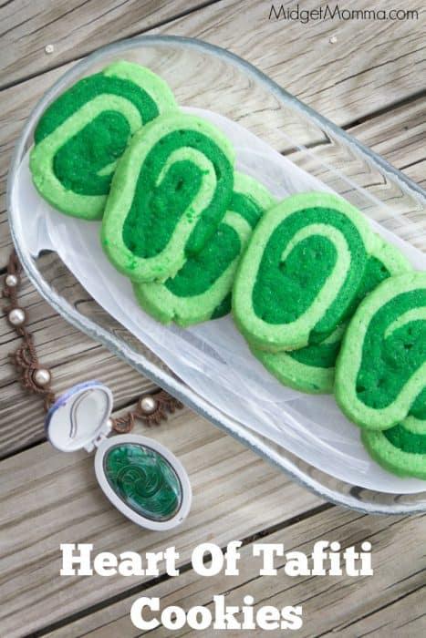 Moana Heart Of Tafiti Cookies