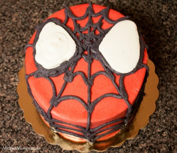 Easy Spiderman cake ideas
