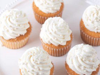 Bakery Style Vanilla Cupcake