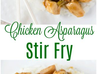 Chicken Asparagus Stir Fry