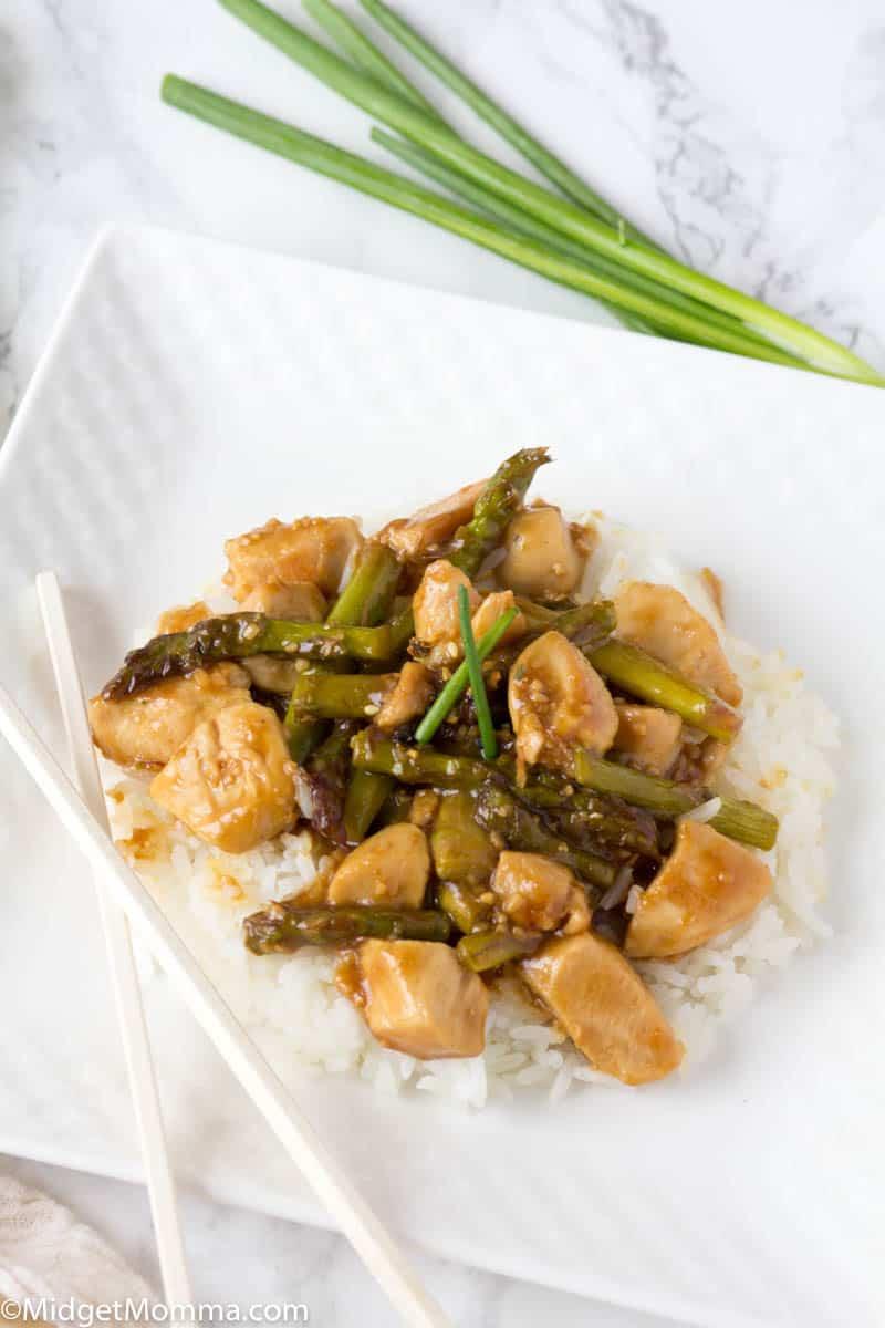 Chicken Asparagus Stir Fry Recipe