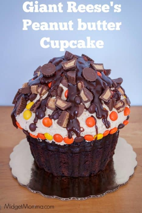 Giant Reese S Peanut Butter Cupcake Midgetmomma