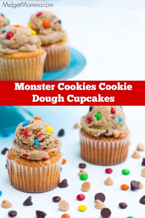 Monster Cookie cupcake frosting