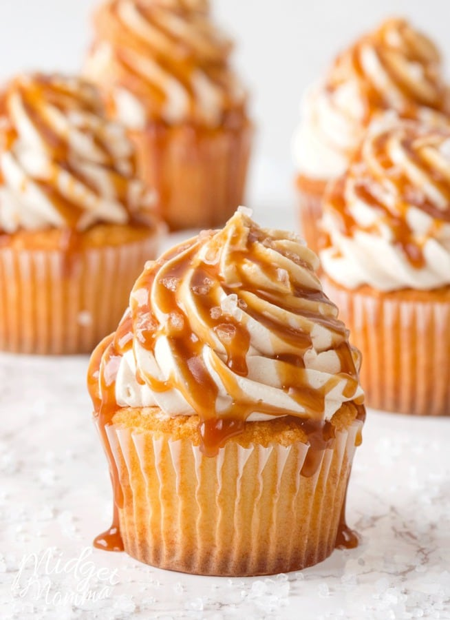 salted caramel buttercream frosting