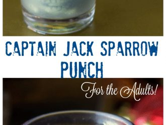 Captain Jack Sparrow (Alcoholic) Punch (For adults!)