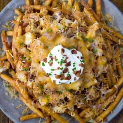 Chicken Bacon Ranch Cheese Fries