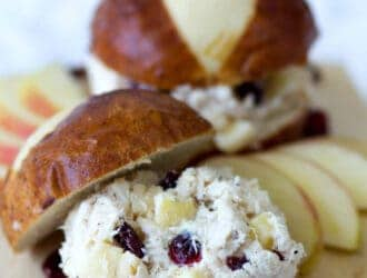Chicken Salad with Apples and Raisins