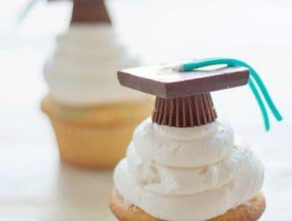Graduation Hat Cupcakes