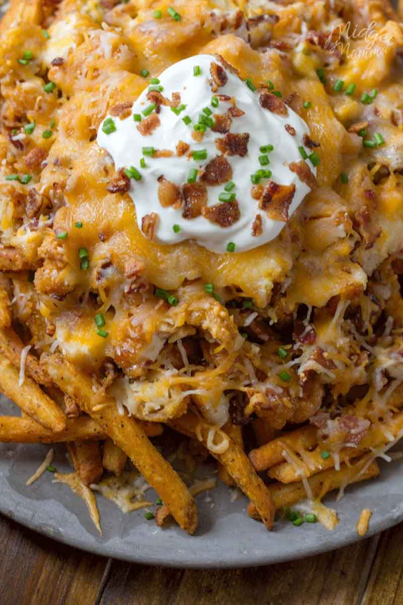 loaded french fries