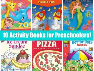 10 Preschool Activity Books! All under $5!
