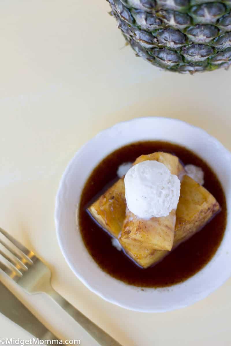Baked pineapple dessert recipe
