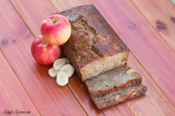 Amazing Banana Apple Bread Midgetmomma