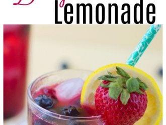 Refreshing Berrylicious Lemonade