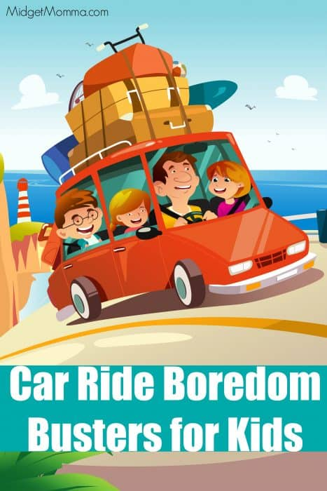 Car Ride Boredom Busters for kids