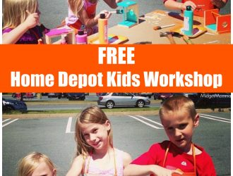 FREE Home Depot Kids Workshops! July 1st Build a Bug House!