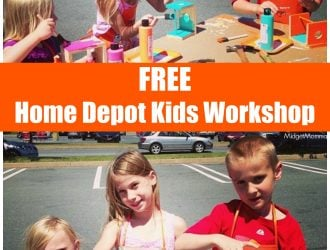 FREE Home Depot Kids Workshops!