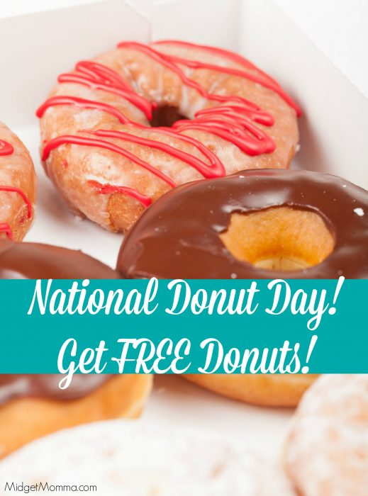 National Donut Day Free Donuts