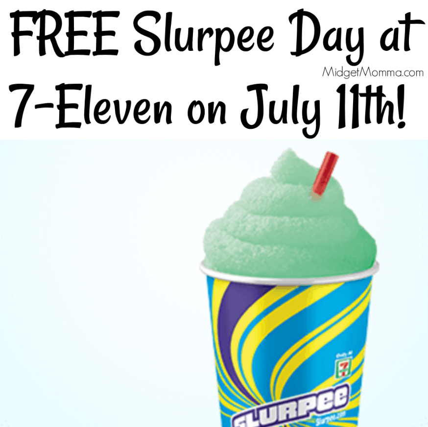 Free Slurpee At 7 Eleven On July 11th Midgetmomma