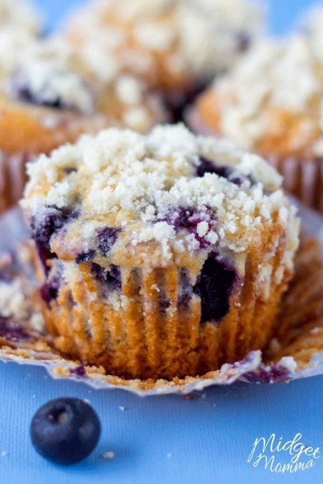 Double Blueberry Muffins Food Network
