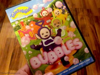 BIG Giant Bubble fun!!! + Teletubbies DVD Prize Pack & $25 Amazon Gift Card Giveaway