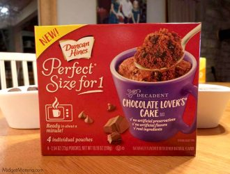 FREE Duncan Hines Perfect Size for 1 ProductCoupon!