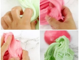 Easy Edible Slime made with lifesavers gummies
