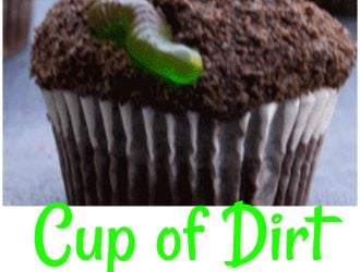 Fun for the Kids Cup Of Dirt Cupcakes