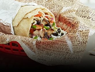 Grab a friend and go to lunch! BOGO FREE Entrée at Chipotle!