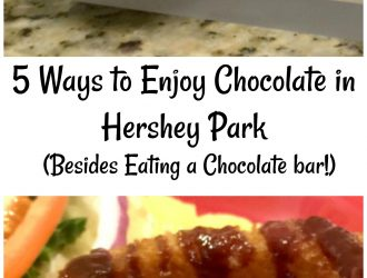 5 Ways to Enjoy Chocolate in Hershey Park (Besides Eating a Chocolate bar!)
