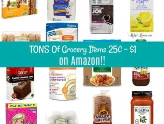 Amazon Fresh: Grocery Mark Downs for 25¢ – $1!!  INSANE Savings on Groceries Shopping from home!