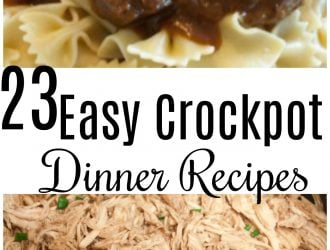23 Easy Crockpot Dinner Recipes For Busy Moms